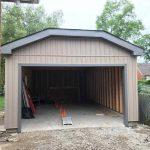 Garage - Eavestrough work