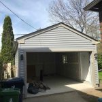 garage aluminum siding